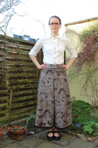 Itch to stich Emily Culottes
