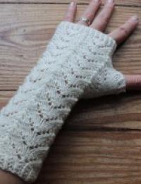 Fishtail Wristwarmers