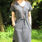 Anza Jumpsuit and Dress von Itch to Stitch
