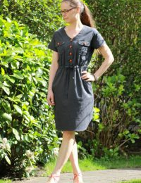 Itch to Stitch Anza Dress