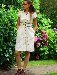 Itch to Stich Chai Dress