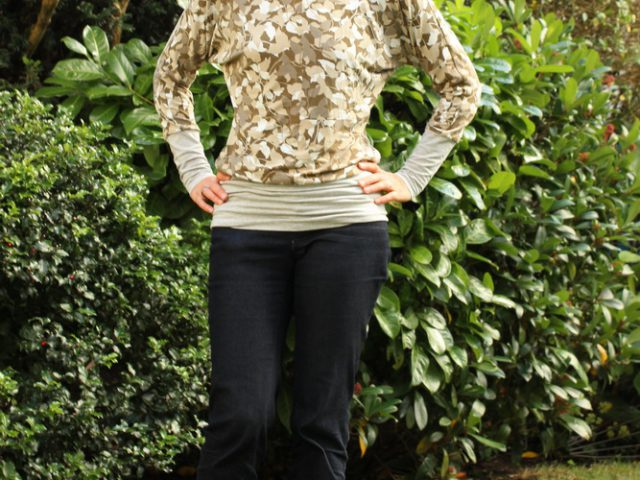 Sinclair Patterns Danielle Batwing Top